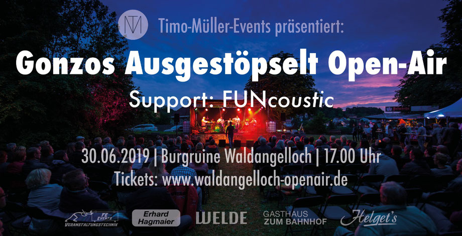 Unplugged OPEN-AIR-KONZERT 2019